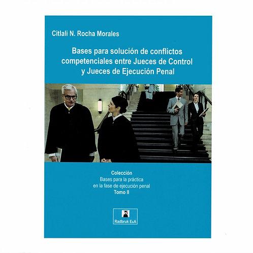 Bases para Solución de Conflictos entre Jueces de Control  y Jueces de Ejecución