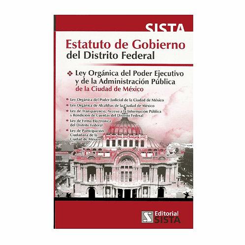 Estatuto de Gobierno del Distrito Federal 2020
