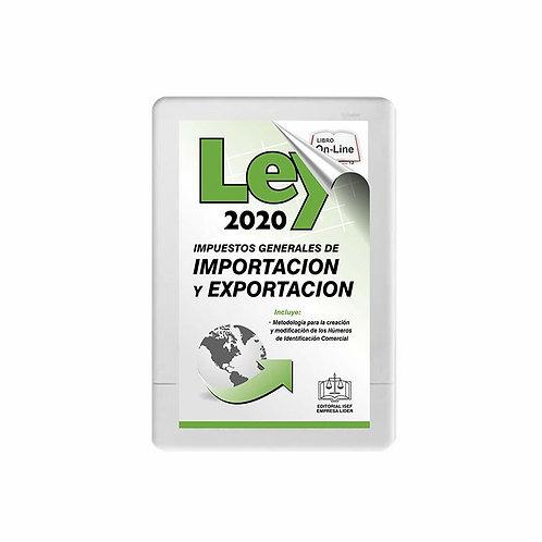 SWF Ley de los Impuestos Generales de Importación y Exportación (LIGIE) 2020