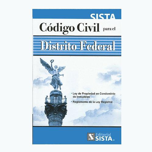 Código Civil para el Distrito Federal 2021
