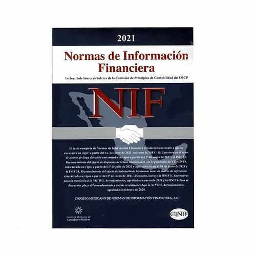 Normas de Información Financiera 2021 (NIF) Versión Profesional