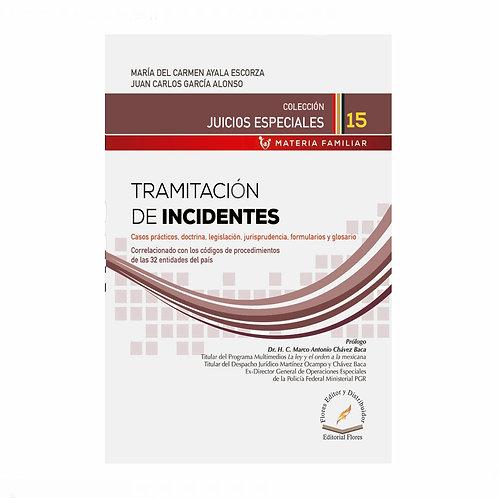 Tramitación de Incidentes. Casos Prácticos, Formularios y Glosario