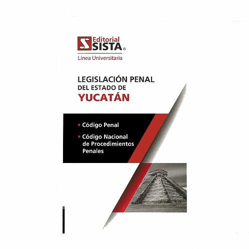 Legislación Penal del Estado de Yucatán 2020. Línea Universitaria