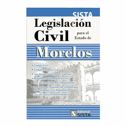 Legislación Civil para el Estado de Morelos 2021