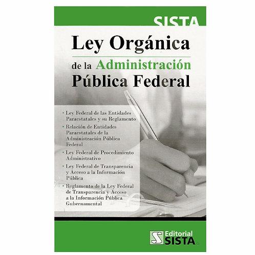 Ley Orgánica de la Administración Pública Federal 2021
