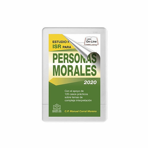 SWF Estudio práctico del ISR para Personas Morales 2020