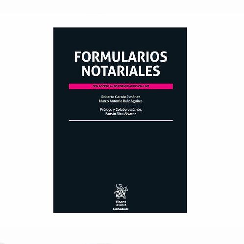 Formularios Notariales con Acceso a los Formularios On-line