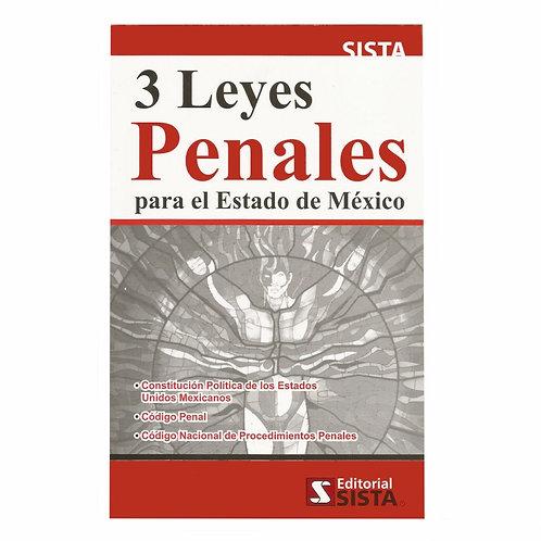 3 Leyes Penales para el Estado de México 2021