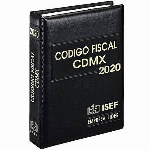 Código Fiscal de la CDMX Ejecutivo 2020