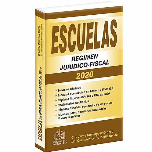 Escuelas Régimen Juridico-Fiscal