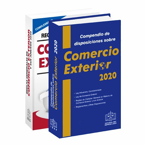Compendio De Comercio Exterior 2020 Y Complemento