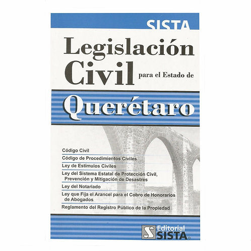 Legislación Civil para el Estado de Querétaro 2021