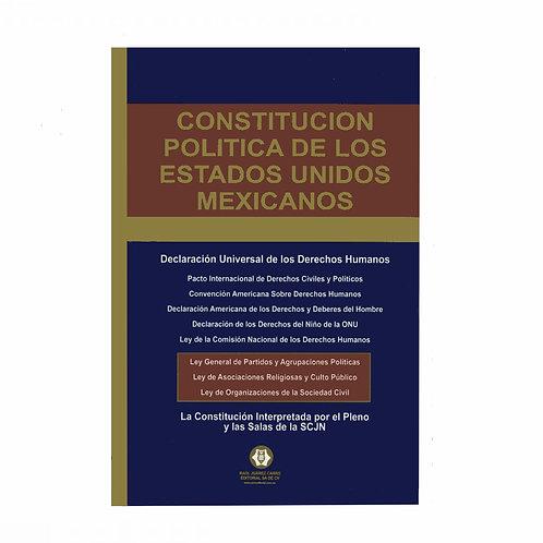 Constitución Política de los Estados Unidos Mexicanos 2021
