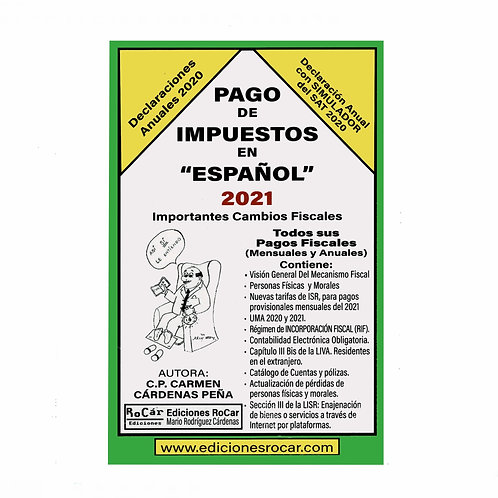 Pago de Impuestos en español 2021