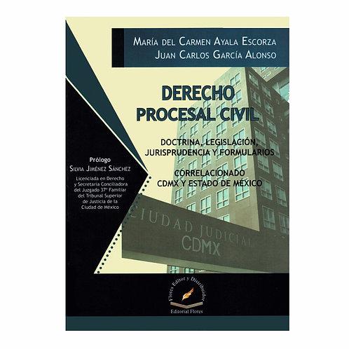 Derecho Procesal Civil. Correlacionado CDMX y Estado de México
