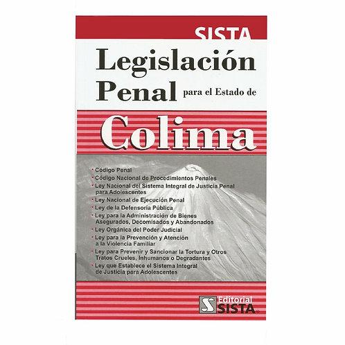 Legislación Penal para el Estado de Colima 2020