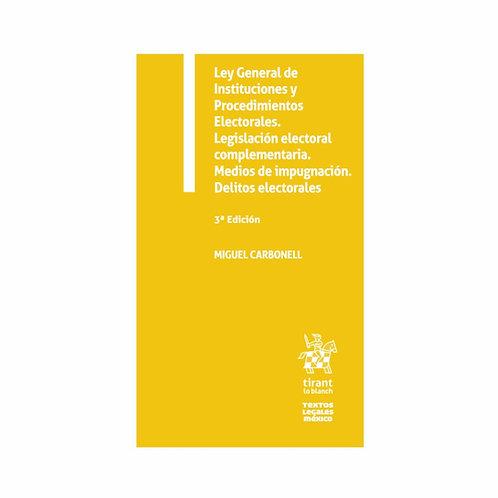Ley General de Instituciones y Procedimientos Electorales 2021