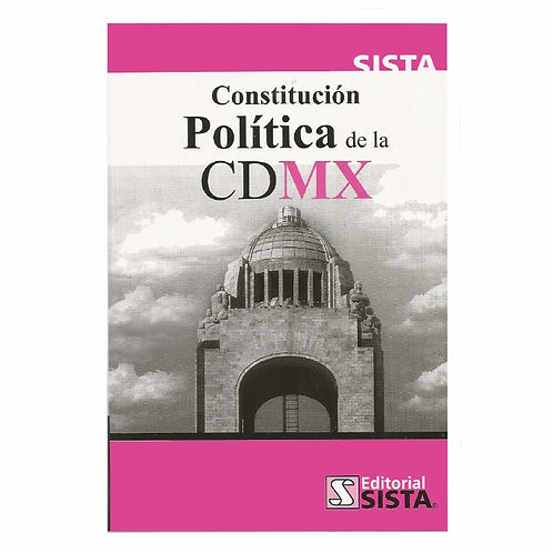 Constitución Política de la CDMX 2020