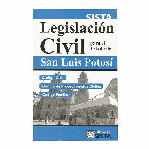 Legislación Civil para el Estado de San Luis Potosí 2020