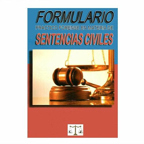 Formulario de Sentencias Civiles 2021