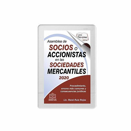SWF Asamblea de Socios o Accionistas en las Sociedades Mercantiles 2020