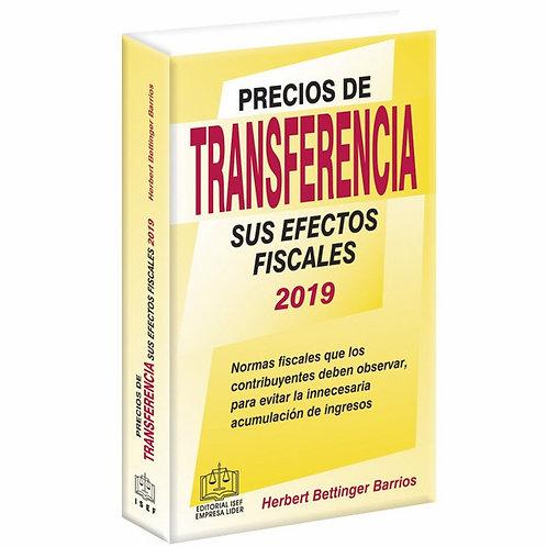 Precios de Transfererencia y sus Efectos Fiscales 2019