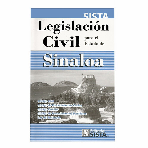 Legislación Civil para el Estado de Sinaloa 2020