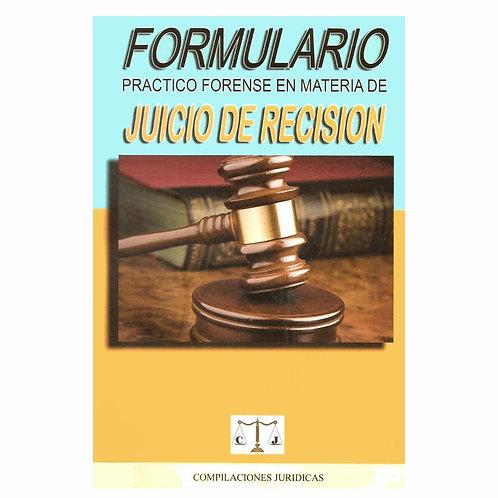Formulario de Juicio de Recisión 2021
