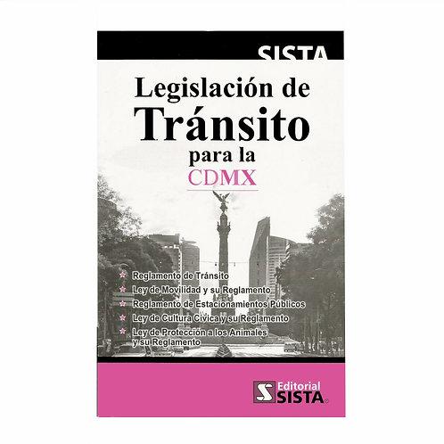 Legislación de Tránsito para la CDMX 2020