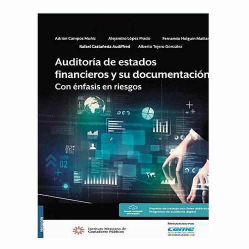 Auditoría de Estados Financieros y su Documentación. Con Énfasis en Riesgos