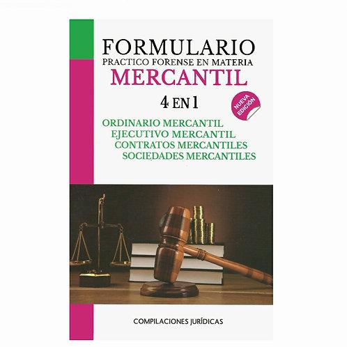 Formulario Mercantil 4 en 1 2021