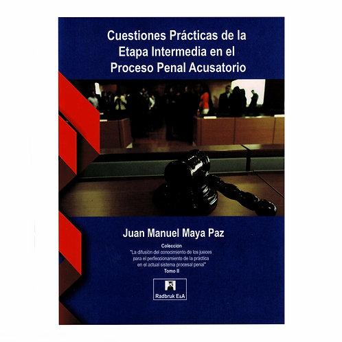 Cuestiones Prácticas de la Etapa Intermedia en el Proceso Penal Acusatorio