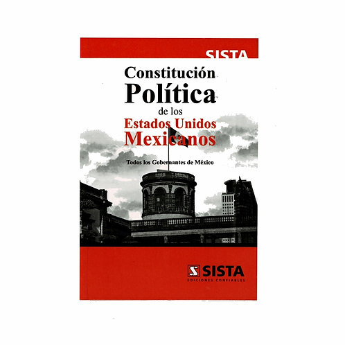 Constitución Política de los Estados Unidos Mexicanos 2021 (Económica)