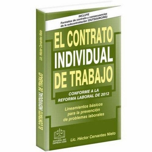 El Contrato Individual del Trabajo