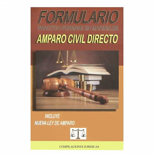 Formulario de Amparo Civil Directo 2021