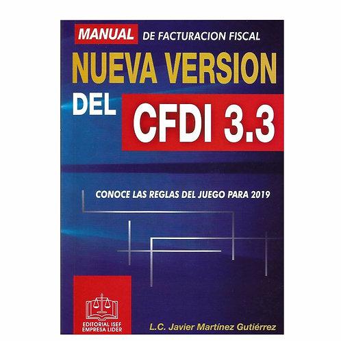Manual de la Facturación Fiscal Nueva Versión del CFDI 3.3 2019