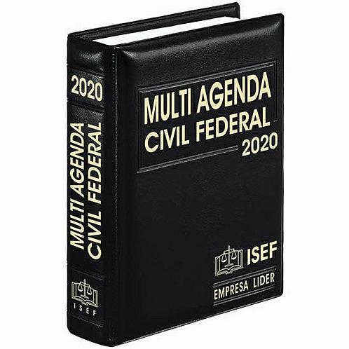 MULTI AGENDA CIVIL FEDERAL 2020