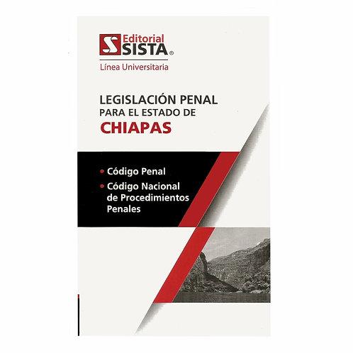Legislación Penal para el Estado de Chiapas 2020 Línea Universitaria