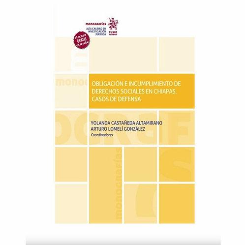 Obligación e Incumplimiento de Derechos Sociales en Chiapas. Casos de Defensa