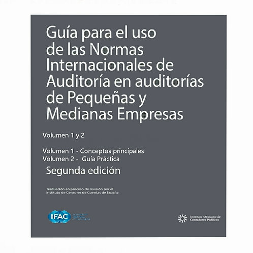 Guía para el Uso de las Normas Internacionales de Auditoría en auditorías PYMEs