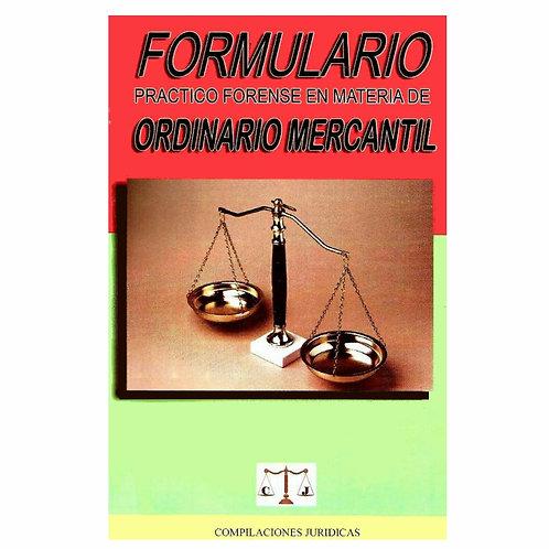 Formulario de Ordinario Mercantil 2021