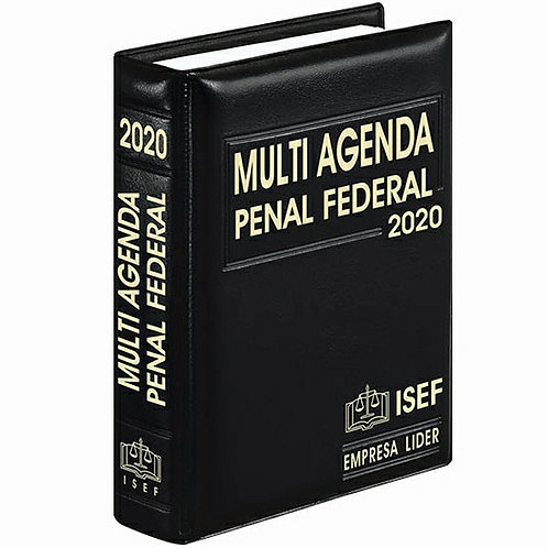 Multi Agenda Penal Federal 2020 Incluye Complemento