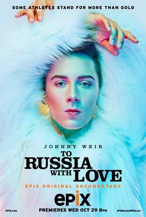 Capa documentário - Atleta russa em destaque