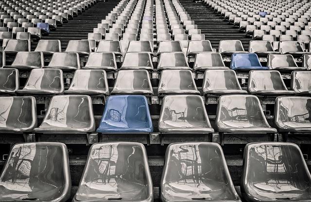 Arquibancadas de estádio