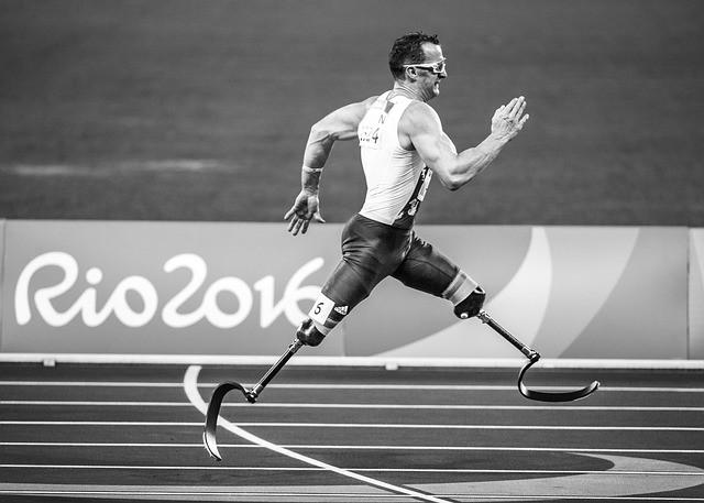 Paratleta de atletismo