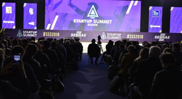 Auditório da Startup Summit lotado