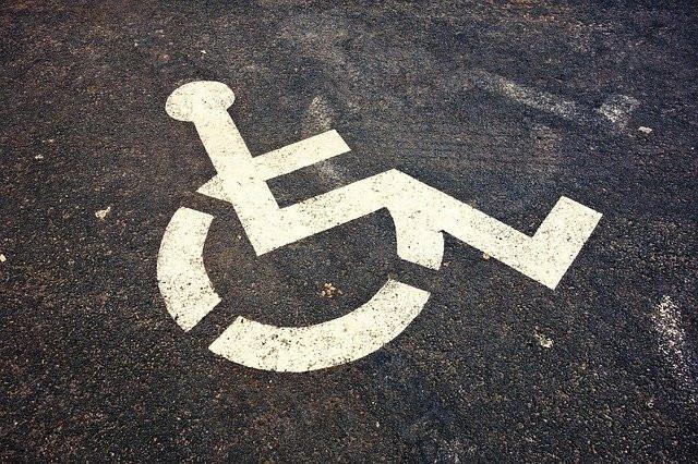 Vaga para deficientes físicos