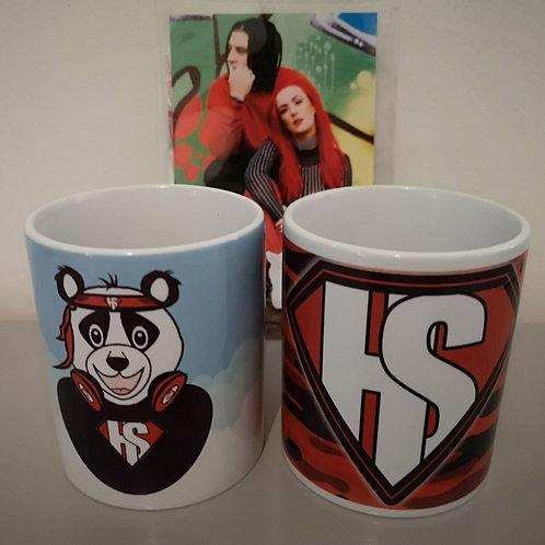 2 Mug Set - HKSK Camo & Panda
