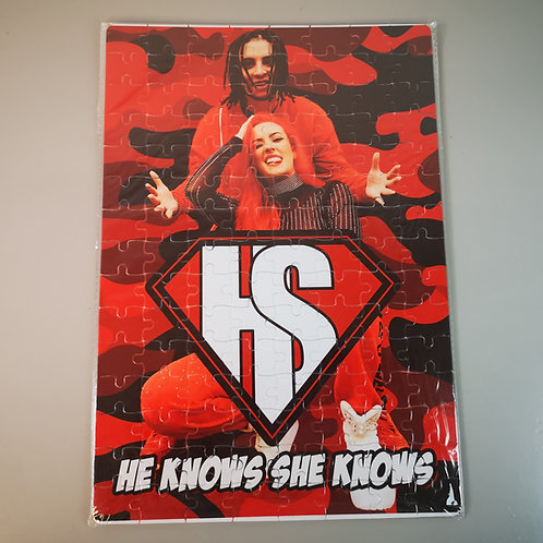 HKSK Camo A4 Jigsaw Puzzle