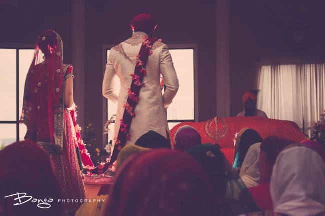 Wedding at Gurdwara Sahib
